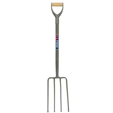 Spear & Jackson Tubular Steel Contractors Fork 1710AW