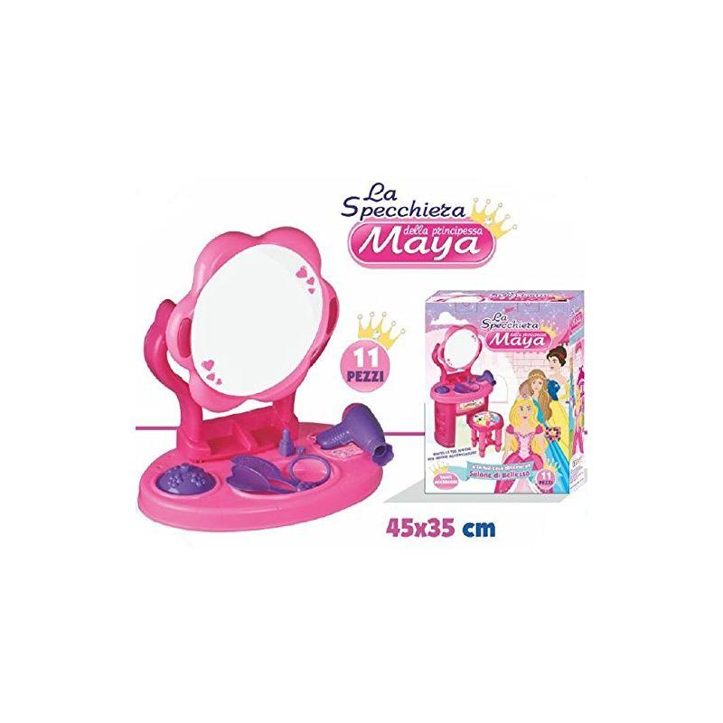 Specchiera Da Tavolo Per Bambine Principessa Maia Playset Con Accessori