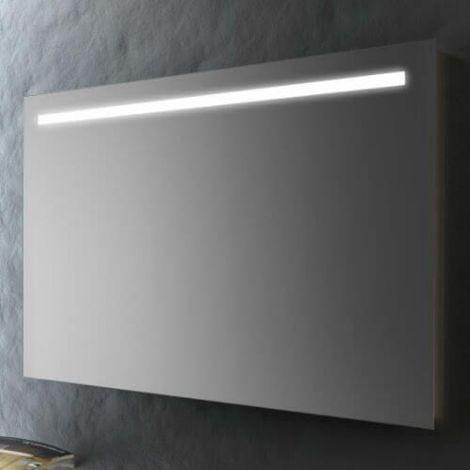 Luce Specchio Bagno Led.Specchio Bagno 120x70 Cm Con Striscia Led Specchio Con Luce Smms06