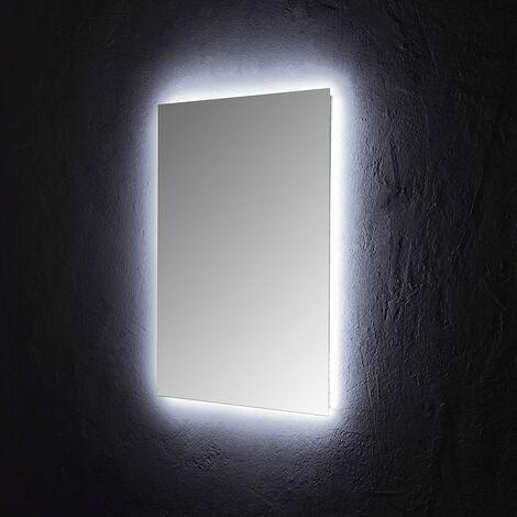 """main image of """"SPECCHIO BAGNO 60x80 CM CON ILLUMINAZIONE PERIMETRALE A LED"""""""