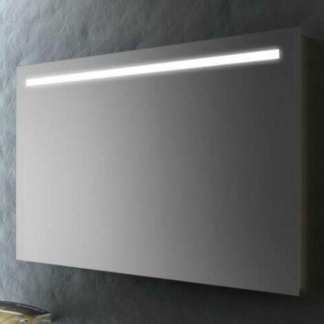Specchio Bagno Con Lampada.Specchio Bagno 60x80 Cm Con Striscia Led Specchio Con Luce Smms04