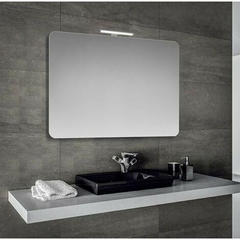 Specchio Bagno Led.Specchio Bagno 90x60 Cm Con Lampada Led