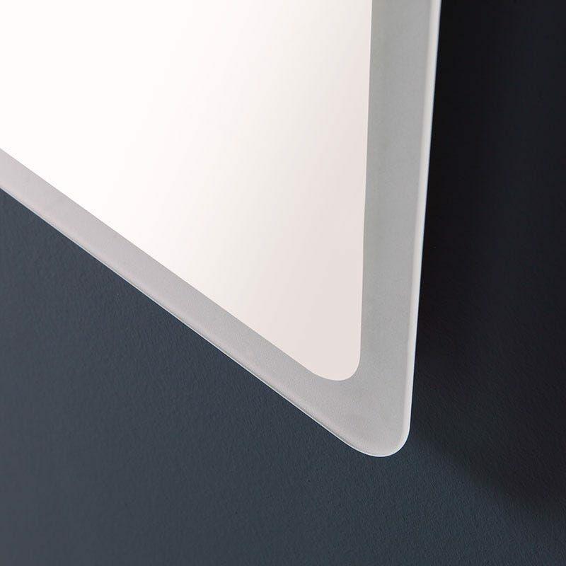 Bianco Freddo 120x80cm Alasta Specchio Chicago Illuminazione da Bagno Specchio Controluce LED A++ Specchio da Parete Molte Dimensioni