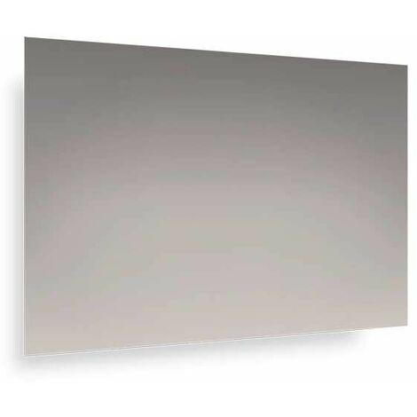 Lampada Led Specchio Bagno.Specchio Bagno No Fori Con Lampada Led 90x60 Cm