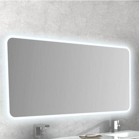 Luci X Specchio Bagno.Specchio Da Bagno Anti Appannamento Con Luci A Led 141cm X 70cm