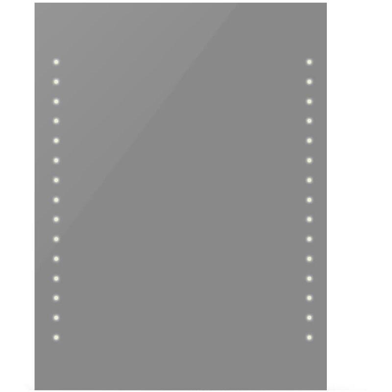 Specchio Bagno 80.Specchio Da Bagno Con Luci A Led 60 X 80 Cm L X A