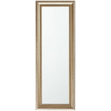 Specchio da muro con cornice oro/argento 51x141cm AURILLAC