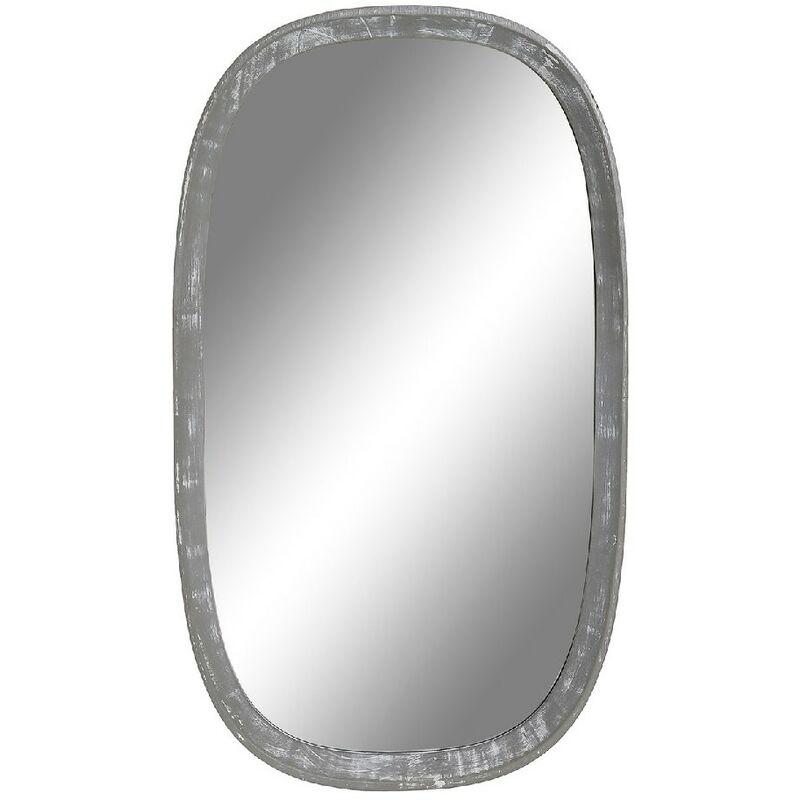 Specchio da parete Legno (34 x 2.5 x 60 cm) - Dkd Home Decor