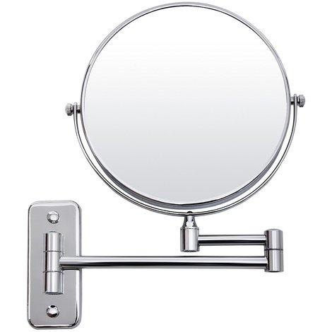 Specchio Per Trucco Da Parete.Specchio Double Face Ingrandimento X 10 Cosmetico Da Trucco Per Make