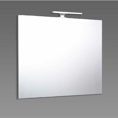 Specchio Bagno 80 X 70.Specchio Filo Bagno Reversibile Lampada Luce A Led 80x70 Cm