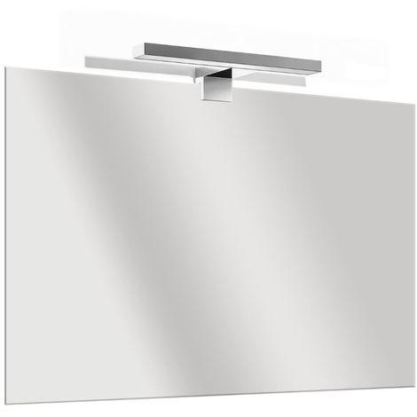 Specchio Bagno 80 X 70.Specchio Filo Parete Lucido Reversibile Bagno Arredo 80x70 Con Led