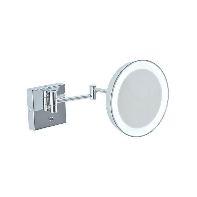 Specchi Ingranditori Per Bagno Con Luce.Specchio Ingranditore Da Bagno Con Luce Led Batteria