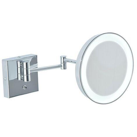Specchio Ingranditore Da Bagno.Specchio Ingranditore Da Bagno Con Luce Led Batteria