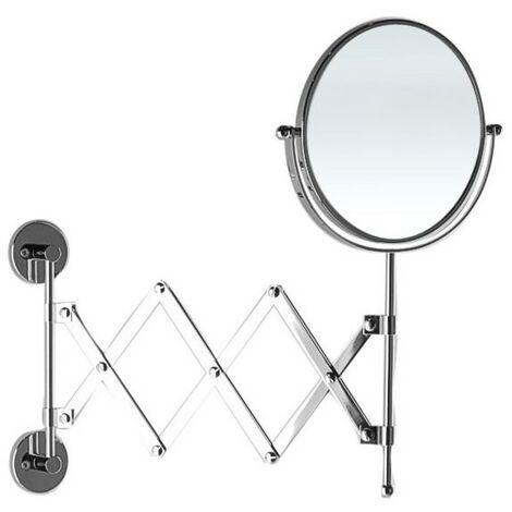 Specchio Ingranditore Per Bagno.Specchio Ingranditore Da Bagno Estensibile Con Doppia Faccia