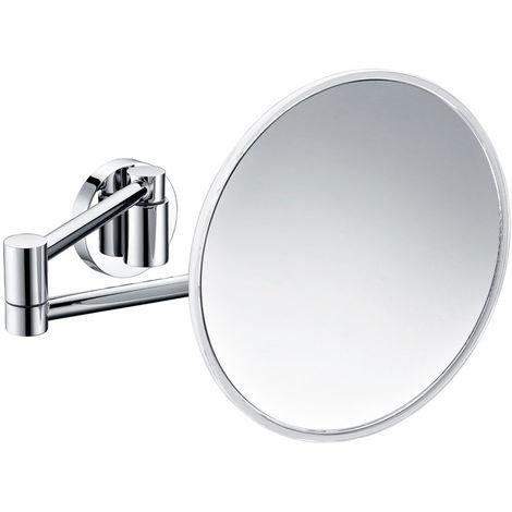 Specchi Ingranditori Da Parete.Specchio Ingranditore Da Parete Tondo Gedy Maldive Ottone Cromo E