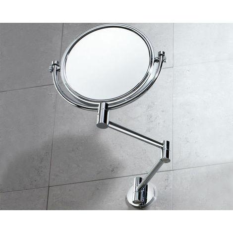 Specchio Ingranditore Da Bagno.Specchio Ingranditore Laurent Da Parete E Non Da Parete Gedy Bagno Cod 2104