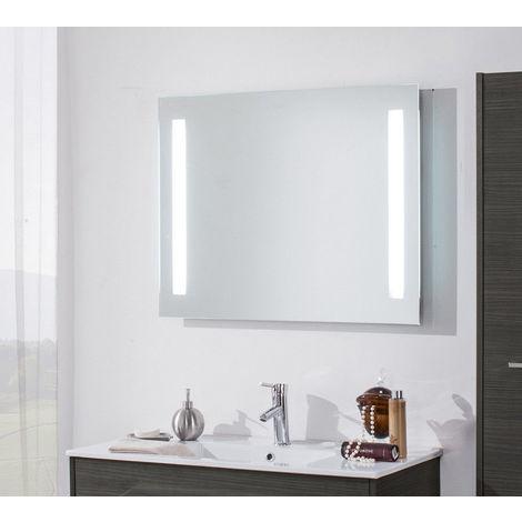 Specchio Bagno 80.Specchio Led 80 X 70 Led Integrato Sp002 8070
