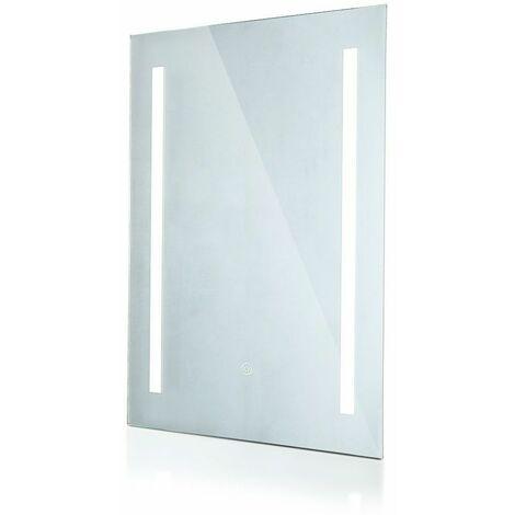 Specchio LED Rettangolare 30W con Sistema Anti-appannamento 700*500*35mm 6400K IP44