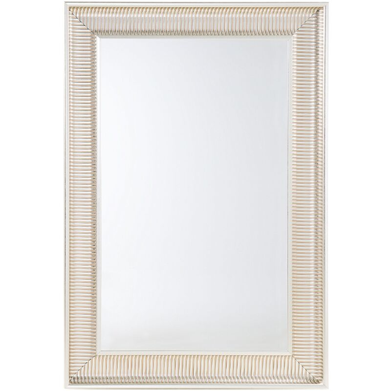 Specchio moderno da parete con cornice dorata - 60x90cm - CASSIS - 58504