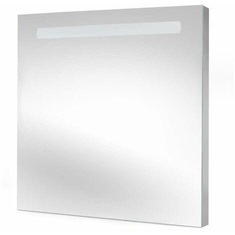 """main image of """"specchio """"pegasus"""" con illuminazione led frontale, 60x70 cm"""""""