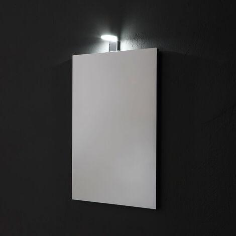 """main image of """"SPECCHIO RETTANGOLARE CM 50X70 REVERSIBILE COMPLETO DI LAMPADA LED"""""""