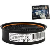 Special Edition: Sundström Partikelfilter SR 510 P3 R H02-1312 mit gratis Reinigungstuch