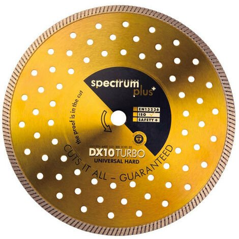 Spectrum DX10-115/22 Turbo Universal Hard 115mm Diamond Disc Blade