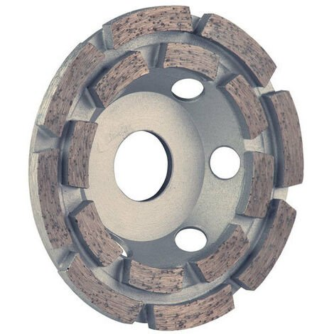 Spectrum KDR180/22 ULTIMATE Double Row Cup Grinding Diamond Disc Blade 180mm