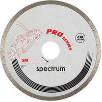 Spectrum SM100/16 PRO Ceramic Tile 100mm Diamond Disc Blade