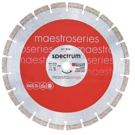 Spectrum TC10-125/22 Maestro General Purpose Diamond Blade 125mm