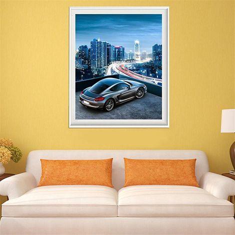 Speed ??Car 5D Diamond Embroidery Painting Cross Stitch Art Crafts Home Decoration Diy