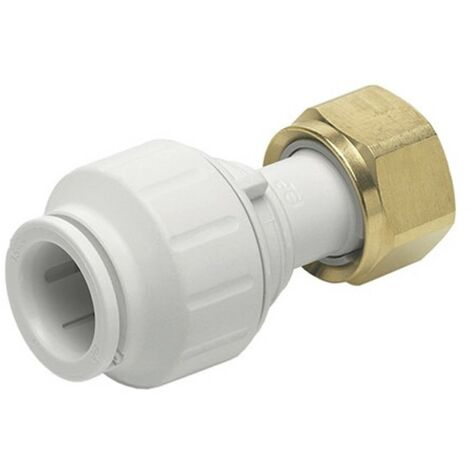 Speedfit Straight Tap Connector 15mm x 3/4""