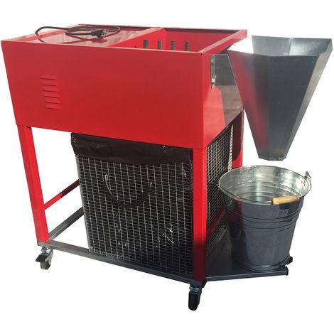 Spennapolli Combo. Spennatrice elettrica a 230 V. Spiumatrice per polli e grandi volatili. Completa di tutto