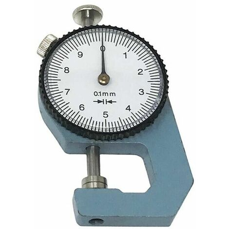 """main image of """"Spessimetro Misuratore Di Spessore Da 0 10 Mm Decimale Micrometro"""""""