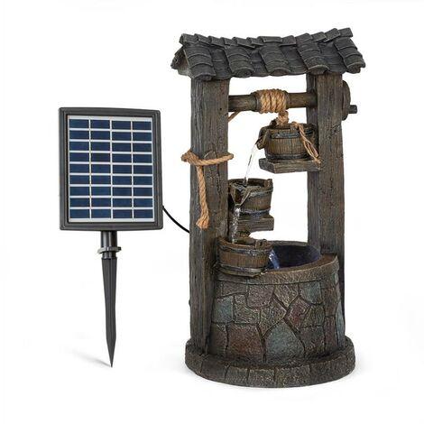 "main image of ""Speyer Cascade Fountain Solar Fountain Garden Fountain 4 Levels Battery Operation"""