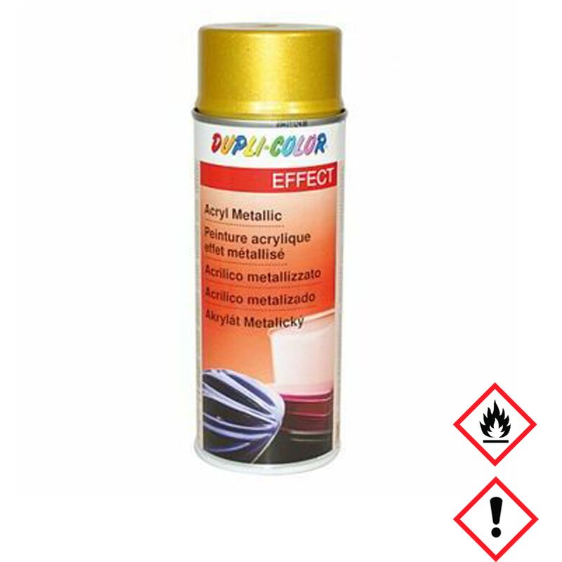 Spezial-Lackspray Metallic Acryl gold