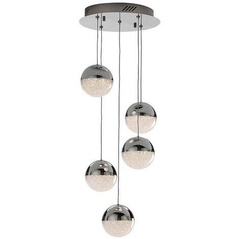 SPHERE de Schuller, lámpara circular 5 luces