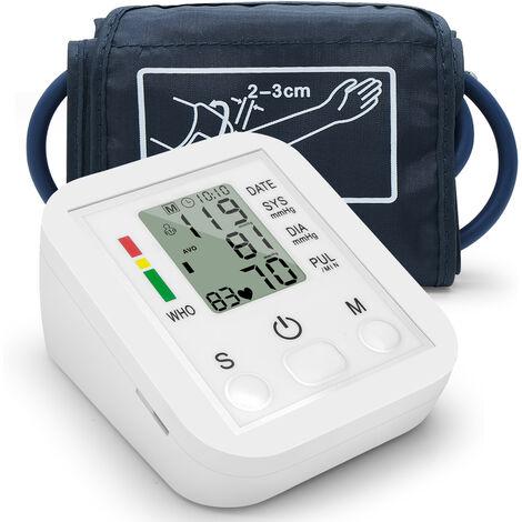 Sphygmomanometre De Bras, Affichage Numerique Lcd, Multicolore, A