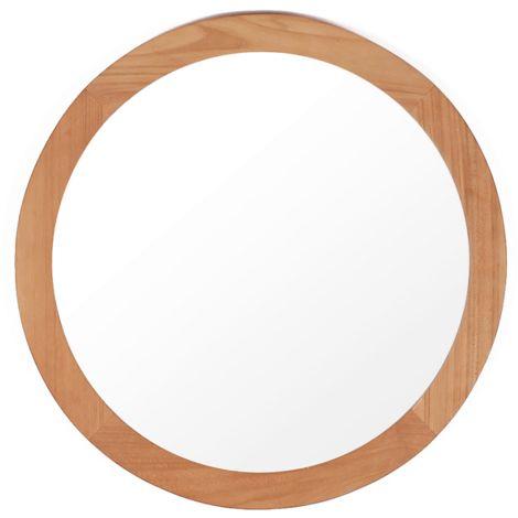 Spiegel Ø70cm BALI rund aus Teakholz