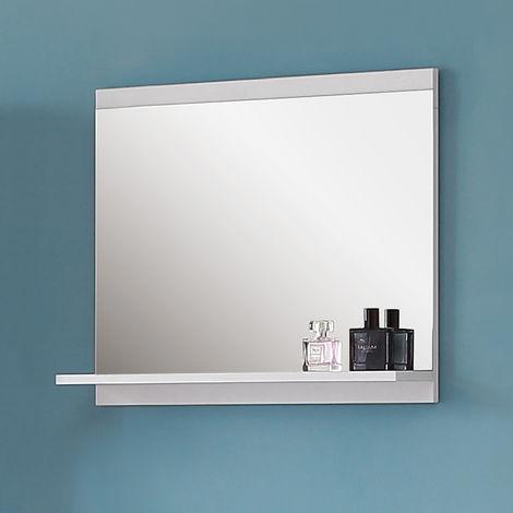Spiegel mit Ablage 60 cm Badezimmerspiegel Badspiegel