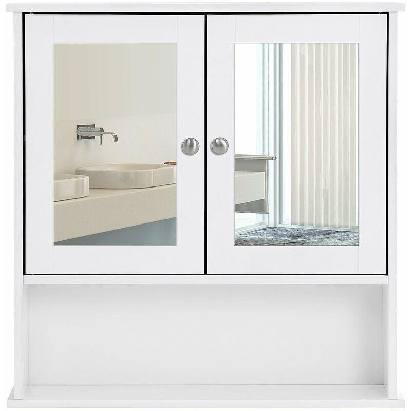 Badschrank Badezimmerschrank Hängeschrank Ablage Schminkschrank Wandschrank