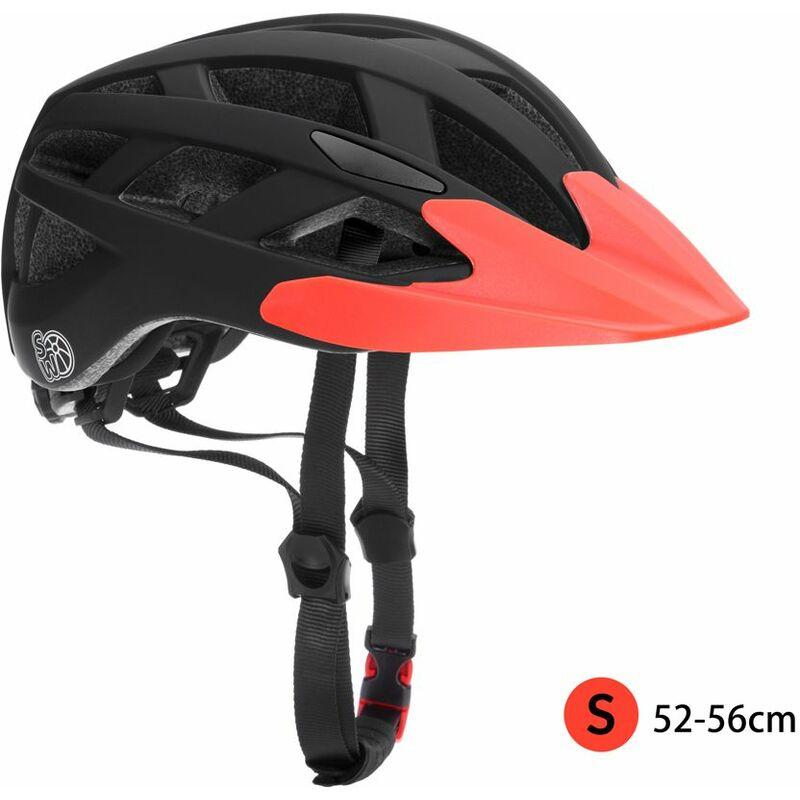 SAMTITY Casco de Bicicleta Ajustable Casco de Seguridad para ni/ños con luz de Advertencia para Patinaje en Scooter//Bicicleta//Patineta//Patinaje//Rodillo Blading