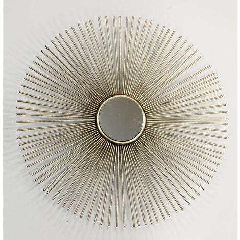 Spike Gold Mirror