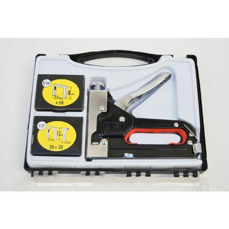 Spillatrice Manuale 3 In 1 Chiodatrice Graffatrice Graffettatrice Puntatrice