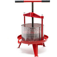 Spindle press stainless steel 14 L Fruit press Berry press Cider press Fruit mill
