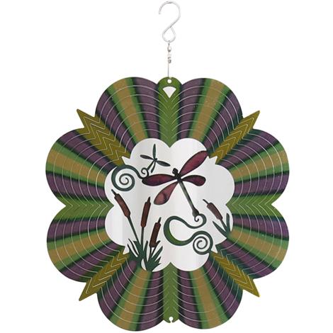 Spinner a vent, avec crochet en S, Decor de balcon de jardin exterieur