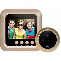 """Spioncino digitale elettronico porta campanello telecamera schermo LCD 2.4"""" W5"""