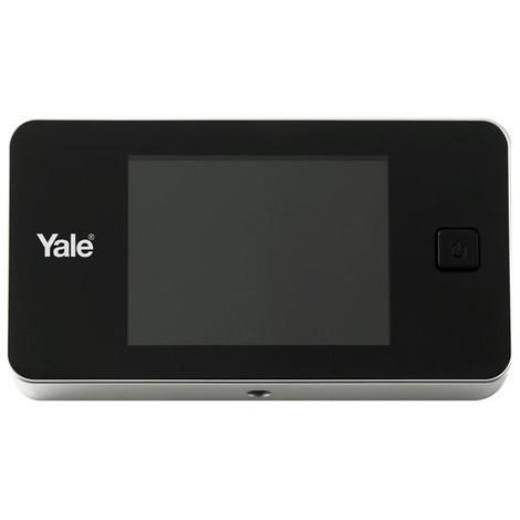 Domus Spioncino Digitale.Spioncino Digitale Elettronico Yale Display 3 2 A Colori Universale Argento