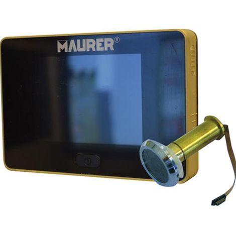 Domus Spioncino Digitale.Spioncino Digitale Oro Con Telecamera Maurer