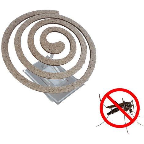 Spirales anti moustiques x10 - Alu